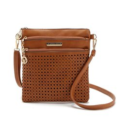 Wholesale Vintage Leather Satchels For Men - women messenger bags crossbody bags for women bolsas femininas 2016 ladies pu leather shoulder bag female vintage satchel bag