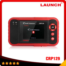 Wholesale Honda Srs Resetting - 2016 New 100% Original Launch X431 Creader CRP129 ENG AT ABS SRS EPB SAS Oil Service Light resets Code Scanner free shipping