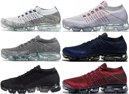 Wholesale Ups True - 2017 New Rainbow VaporMax 2018 BE TRUE Men Woman Shock Running Shoes For Real Quality Fashion Men Casual Vapor Maxes Sports Sneakers