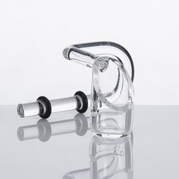 Quarzo Swing Quartz Honey Bucket Quartz Banger Nail 2 Anelli di gomma Tubo d'acqua in vetro Accessorio per fumatori da