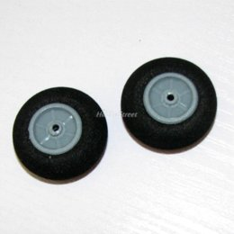 Wholesale Toy Parts Plastic Wheels - D28*2*H12mm EVA Sponge Tyre & Plastic Rim wheel x4pcs LOT RC scale model airplane parts Hobby Toy accessories whoesale Dropship