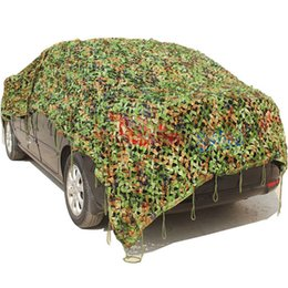 Wholesale Cars Net - Camouflage net Camo Netting with mesh Shelter for Camping Military Camo Net Hunting Camouflage Netting CS Mesh Outdoor Camping Shade Militar