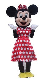 Wholesale Minnie Mouse Costumes For Adults - Red Minnie Mouse Mascot Costumes for Adults