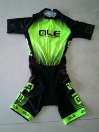 Wholesale Men Cycling Skinsuit - MEN'S CYCLING WEAR CYCLING JERSEY SKINSUIT 2016 ALE FLUO GREEN SIZE: XS-4XL