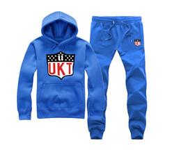 Wholesale unkut clothing - s-5xl Men hip hop clothing unkut set hoodie +pants sweatshirt pullover casual streetwear sportswear male Rock Tracksuits
