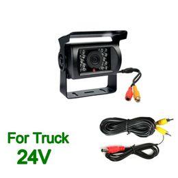 Wholesale 18 led reversing camera - 2017 NEW 18 LED IR Night View Truck Bus Car Rear View Reversing Backup Camera