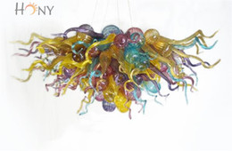Wholesale Free Shopping Malls - Free Shipping AC LED Customized Style Residential Light Online Shopping Modern Art Hanging LED Chandelier