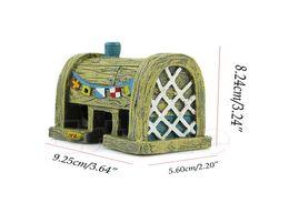 Wholesale Aquatic Fishing - Aquarium Supply Resin House Aquatic Animals Shrimp Cave Ornament Decoration for Fish Tank