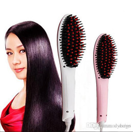 Wholesale Wholesale For Hair Straightener - Best Hair Straightener Brush Beautiful Star Flat Irons for Hair Combs with LCD display HQT-906 Temperature Control professional Combs