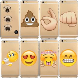 emoji iphone Promo Codes - 2016 iPhone7 7 Plus Emoji phone cases TPU Fashion Lovely Funny Emoji Case for iphone 6 6s 5 5s se Silicone Cell Phone Cases Cover