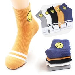 smiling faces cartoons Coupons - 5 Colors available Unisex Emoji Socks Women Cartoon Smile Face Emoticon Casual Sports Art Sock Calcetines Mujer Men Cotton striped Socks