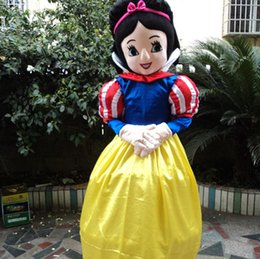 Wholesale Beautiful Princess Costumes - New style snow white mascot costume Character Fancy Dress beautiful princess Cartoon costume party fancy dress