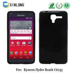Wholesale Free Matting - Latest model For Kyocera reach C6743 view C6742 TPU jelly matting case cover phonecase free shpping