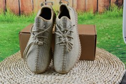 Wholesale Fashion Boots Online - Wholesale 2017 Discount Online Cheap 2016 Hot 350 Boost 350 Sneakers Kanye Milan West Running Shoes for Men Fashion Trainers Shoes With Box