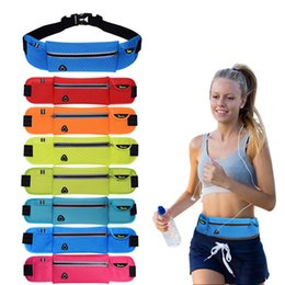Wholesale Cell Phone Wallets For Women - Women Casual Belt Bags Outdoor Waist Packs Bags Unisex Sport Fitness Running Nylon Waistband For Cell Phone Accessory Small Travel Bag