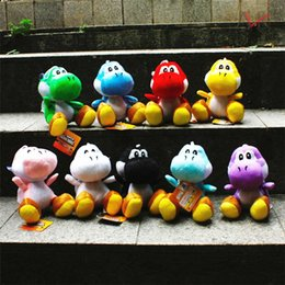 Wholesale Mario Cm - New Fashion Super Mario Plush Toys Mario game toys cartoon toys doll 18 cm 9 styles dragon B0808