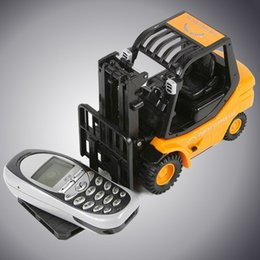 Wholesale Toy Forklift Remote - Wholesale- RC 6-Channel Forklift Radio Remote Control Truck Car Kid Children Toys Gift