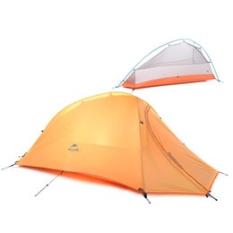 Wholesale Two Person Camping Tent - NatureHike 1 Person Two People Tent Double-layer Tent Waterproof Dome Tent Camping 4 seasons Tent NH15T001-T