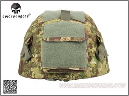 Wholesale Gz Men - Wholesale- EMERS helmet cloth Helmet Cover For MICH2000 helmet Greenzone[GZ TYP HLD MR BL]