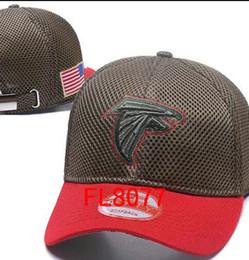 Wholesale Atlanta Caps - hot sale Atlanta hats Men Falcons USA FLAG camo snapbacks Cool Women Sport Adjustable Caps Hats snapbacks Accept Drop ship