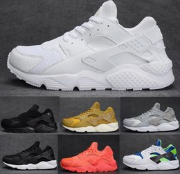 Wholesale Size 12 Mens - With box 2016 Running Shoes Air Huarache For Men and Women Sneakers Zapatillas Deportivas Sport Huaraches Shoes Mens Trainers Size 5.5-12