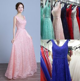 Wholesale Dress Real Picture Celebrity - Modern Pink Evening Dresses Long Lace Formal Prom Party Gowns Real Photos Fashion New 2017 Celebrity Dresses