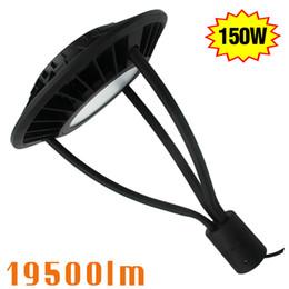 Wholesale Post Lead - 150W LED Circular Street Light Retrofit 400Watt MH Post Top Lamp for Garden Yard Lighting 5700K Daylight 110V 120V 220v 277volt Input