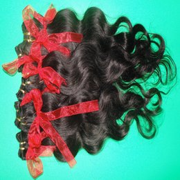 Wholesale Natural Weave Hairstyles - Wholesales price 5pcs lot natural hairstyles 100% unprocessed Malaysian human Hair body wave extensions free fast shipping DHL