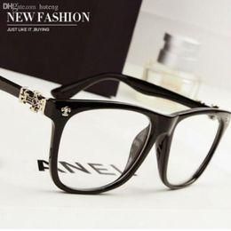 VENTA CALIENTE-Diseñador de moda 2016 nuevo estilo de marca grande marca marcos de gafas de mujer 2017 CALIENTE moda hombres anteojos damas gafas de lectura desde fabricantes