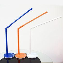 Wholesale Light Luminance - Bigrids 9W Detachable LED Desk Lamp,3 Light Colors Switchable,6 Levels Luminance Adjustable ,360 Degree Rotatable