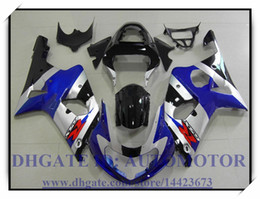 Wholesale Silver Blue Gsxr Fairings - Injection 100% brand new fairing kit fit for Suzuki GSXR1000 2000 2001 2002 GSX-R1000 00 01 02 GSXR 1000 00 01 02 #KA920 BLUE BLACK SILVER