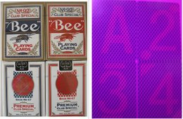 Wholesale paper bees - Magic poker home-Customized 92 Bee perspective poker card ,marked cards.Sales perspective contact lenses,88x63mm