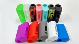 Wholesale E Cigarette New - New iStick Pico 75W Kit Silicon case E cigarette cases Protective Case Fit istick ecigarette Rubber Sleeve Protective Cover Fast shipping