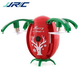 Wholesale Gifts Christmas Presents - JJRC H66 Christmas Egg WIFI FPV Selfie Drone Gravity Sensor Mode Altitude Hold RC QuadCopter RTF for Kids Christmas Gift Present 2117011
