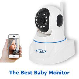 Wholesale Wireless Sd Motion Camera - ShaYn Wifi IP Camera wi-fi 720P Night Vision Wireless MINI P2P CCTV Camera Security Onvif SD Card Indoor Home Cam Telecamera
