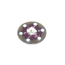 Wholesale free electronic module - Free shipping 10pcs lot New LilyPad Pixel Board WS2812 module for arduino Smart Electronics