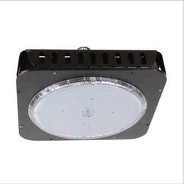 LED Depo Aydınlatma Lambası 150 W Kare UFO led highbays endüstriyel aydınlatma OSRAM LED Chip 100-110lm / W Meanwell Sürücü ile cheap osram led lamp nereden osram led lamba tedarikçiler