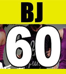 Wholesale Dance Aerobics Dvd - Hot Sale New Routine Course BJ 60 Aerobics Fitness Exercise Comprehensive Latin Hip hop Dance BJ60 Video DVD + Music CD Free Shipping