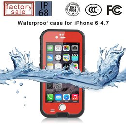 original waterproof cases Promo Codes - New Hot Original RedPepper Case for apple iPhone 5 5s Waterproof mobile phone shell fingerprint Touch ID identificatio DHL free shipping