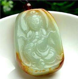 Wholesale Buddha House - Guanyin bodhisattva pendant The tea-house jade Buddha necklace