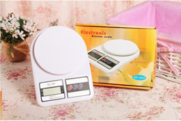 Wholesale Accurate Scales - Electronic Kitchen Scale Weighing Machine Household scales Accurate measurement 10KG With box 2017 Hot Sale