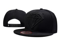 Wholesale Grey Brim Snapback - Cheap 2016 Diamonds Supply Snapback Hats Diamonds Supply Baseball Hats Flat Brim Cap Street Pop Adjustable Hats