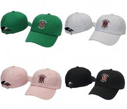 Wholesale Rodeo Gold - RARE Golf Wang Cherry Bomb Baseball Cap Yeezus Strapback snapback Cap palace gorras 6 panel hat casquette Travis Scotts rodeo cap