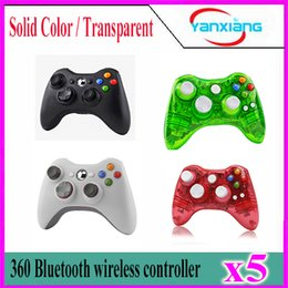 Wholesale Xbox Joypad Wholesale - 5pcs Game Controller For XBOX 2016 New Brand Wireless Gamepad Game Pad Joypad Controller for Microsoft Xbox 360 Quality YX-360-01
