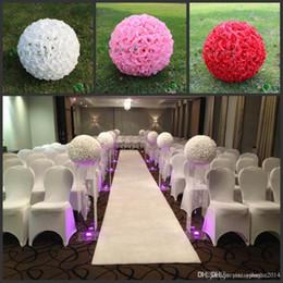 2019 soie grande boule de fleurs blanches 20