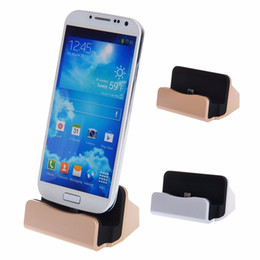 Wholesale Iphone 5s Cradle - By DHL free Charger Docking Stand Station Cradle Charging Sync Dock for iPhone 6 6S Plus 5S 7 Plus Samsung HTC android phone