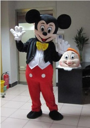 Wholesale Minnie Mouse Halloween Costumes - Special promotional carnival costumes Mickey mouse mascot evening dress Minnie mouse Costumes Halloween Costume Free Shipping