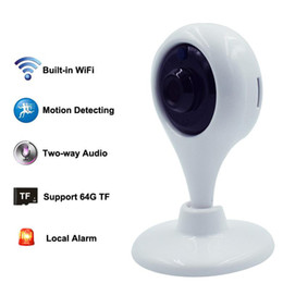 Wholesale Wholesale Audio Baby Monitors - Wireless Babyfoon Camera Baby Monitor WiFi 720P HD Smart Home Security Camera Intercom Audio Infant Babymonitor