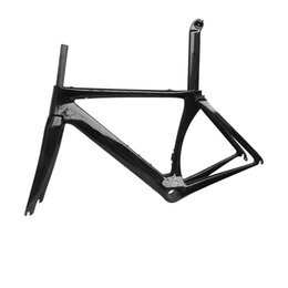 Wholesale Carbon Road Bike Frame 48 - 2017 carbon road bike frame UD gloss BB30 48 51 54 56 58mm carbon fibre road cycling race bicycle frameset
