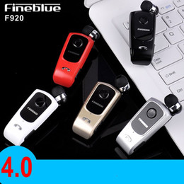 Wholesale Clip Bluetooth Headset Mini - Fineblue F920 Bluetooth Earbuds Cheap Hot Sell Mini Wireless Driver Auriculares Headset Stereo Retractable Clip Audifonos Running Earphones